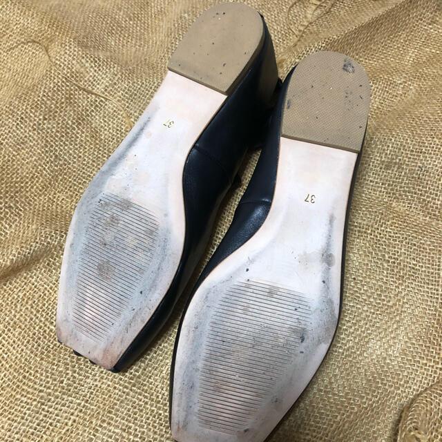 ENFOLD(エンフォルド)のnagonstans ストラップフラットシューズ レディースの靴/シューズ(バレエシューズ)の商品写真