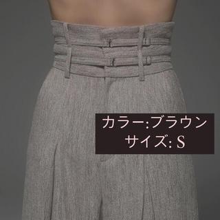バブルス(Bubbles)のmelt the lady メルトザレディ double strap pants(カジュアルパンツ)