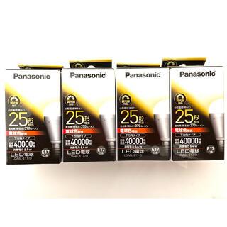 パナソニック(Panasonic)のLED電球(Panasonic) 4個セット(蛍光灯/電球)