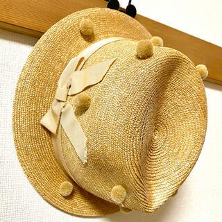 ナデシコ(nadesico)の【貴重品】ナデシコ 麦わら帽子(麦わら帽子/ストローハット)