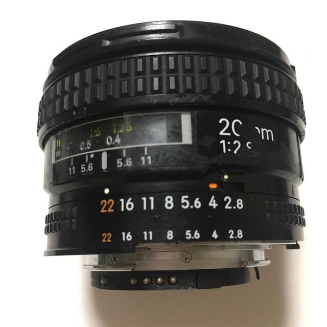 Nikon(ニコン)のニコン Nikon 単焦点レンズ AI 20 f/2.8S フルサイズ対応 スマホ/家電/カメラのカメラ(レンズ(単焦点))の商品写真