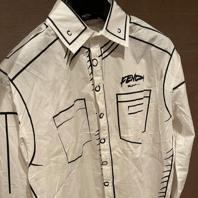 FENDI(フェンディ)のFENDI×JOSHUA VIDES フェンディ 長袖シャツ メンズ Lサイズ  メンズのトップス(シャツ)の商品写真