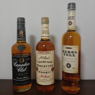 ウイスキー3本セット(古酒、値引、バラ売り不可)(ウイスキー)