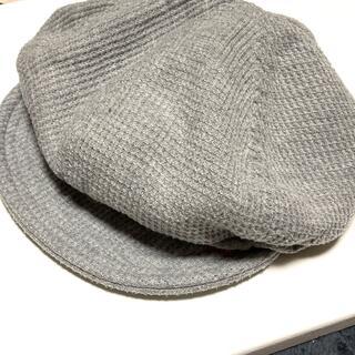 シマムラ(しまむら)のしまむらEDWIN®キャスケット帽子グレージュ(キャスケット)