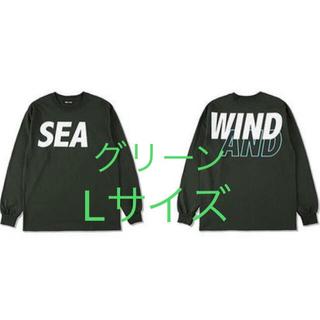 wind and sea ロンT グリーン Lサイズ