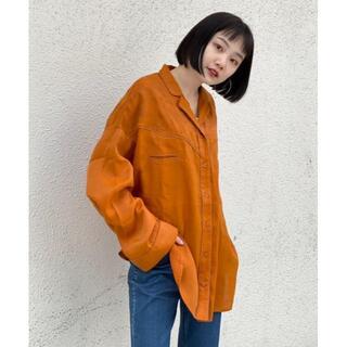 Kastane - 21SS 新作 新品 Kastane 刺繍パイピングウエスタンシャツ