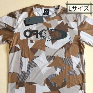 オークリー(Oakley)のオークリー ビッグロゴTシャツ、グラフィックTシャツ、Tシャツ、迷彩柄、Lサイズ(Tシャツ/カットソー(半袖/袖なし))