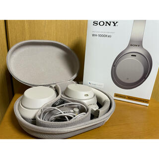 SONY - WH-1000XM3 SONY  ワイヤレスヘッドホン