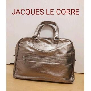 アッシュペーフランス(H.P.FRANCE)のジャックルコー リスボン メタリック 牛革 H.P.FRANCE(ハンドバッグ)