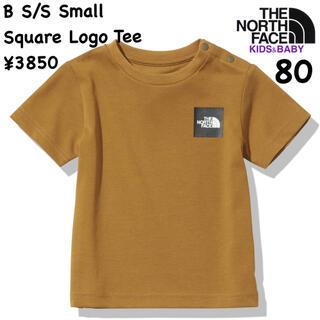 ザノースフェイス(THE NORTH FACE)のザノースフェイス★ベビーショートスリーブスモールスクエアロゴティー/ベビー80(Tシャツ)