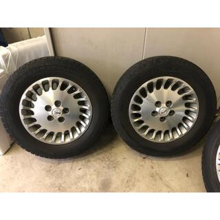 ニッサン(日産)の日産純正部品パーツ アルミホイール 16インチ 6.5J & スタッドレスタイヤ(タイヤ・ホイールセット)