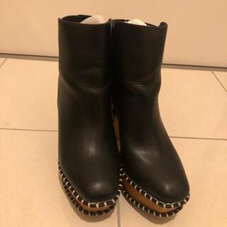 moussy - moussy  wood sole ブーツ   Lサイズ