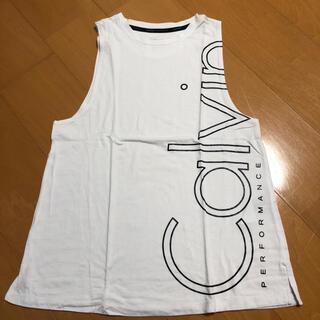 カルバンクライン(Calvin Klein)のCalvin Klein タンクトップ XSサイズ(タンクトップ)
