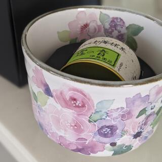 イトウエン(伊藤園)の新品お箱入り☆ お抹茶お茶碗セット(陶芸)