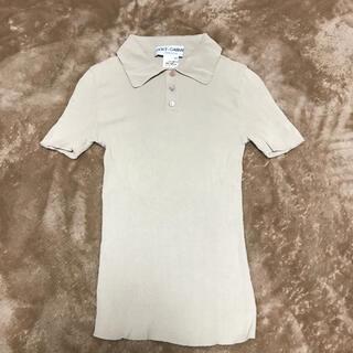 ドルチェアンドガッバーナ(DOLCE&GABBANA)のドルガバ ポロカラー ニット ポロシャツ(ニット/セーター)