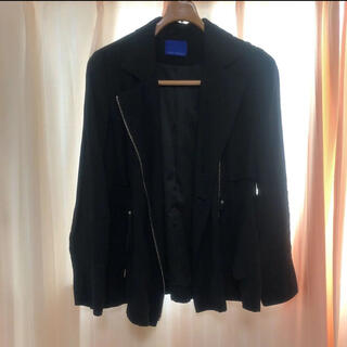 エディグレース(EDDY GRACE)の黒 ブラック ジャケット(ライダースジャケット)