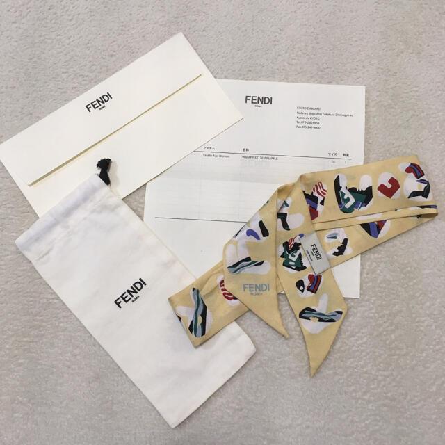FENDI(フェンディ)のFENDI スカーフ・ラッピー レディースのファッション小物(バンダナ/スカーフ)の商品写真