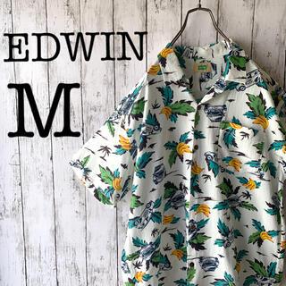 エドウィン(EDWIN)の【アロハシャツ×エドウィン】古着 90's メンズ トップス 総柄 希少 激レア(シャツ)