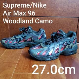 シュプリーム(Supreme)のSupreme/Nike Air Max 96 Woodland Camo 27(スニーカー)