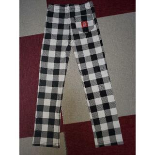 BABYDOLL - BABYDOLL(ベビードール)白黒チェック長ズボン(120サイズ)中古 送料込