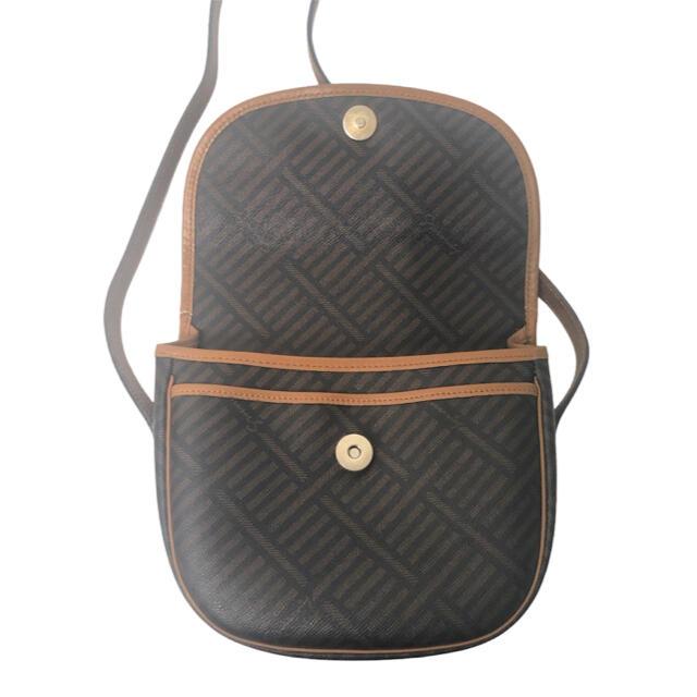 GIVENCHY(ジバンシィ)の【良品】GIVENCHY ショルダーバック pvc×レザー 4Gロゴ ブラウン レディースのバッグ(ショルダーバッグ)の商品写真