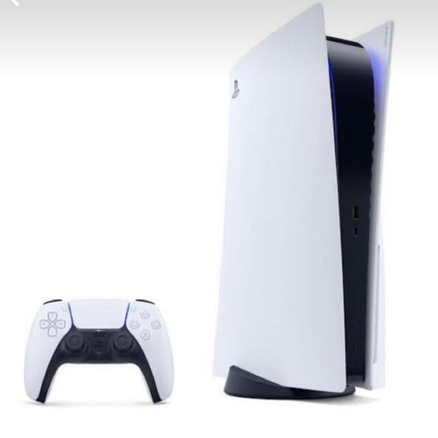 PlayStation(プレイステーション)のPS5 本体 新品 未開封 メーカー保証書付 エンタメ/ホビーのゲームソフト/ゲーム機本体(PCゲームソフト)の商品写真