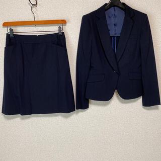 RU - アールユー スカートスーツ 11 W72 濃紺 OL ビジネス RU DMW