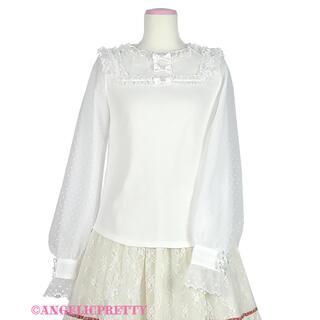 アンジェリックプリティー(Angelic Pretty)のSecret Fairy 長袖カットソー Angelic Pretty 白(カットソー(長袖/七分))