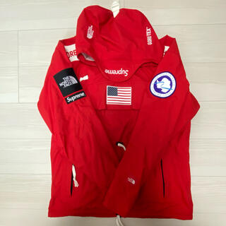Supreme - 交渉タグ有 Supreme The North Face 17ss RED M