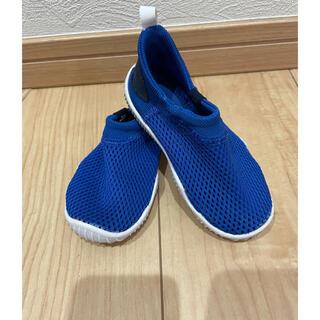 ナイキ(NIKE)のNIKE☆アクアソック360 13cm 青 ブルー(スニーカー)