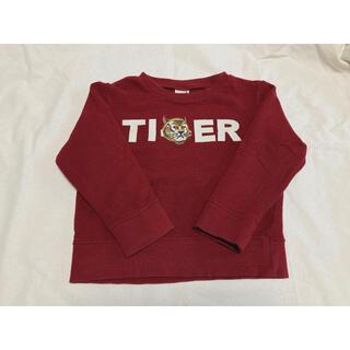 プティマイン(petit main)の【PETIT MAIN】🐯TIGER トレーナー(Tシャツ/カットソー)