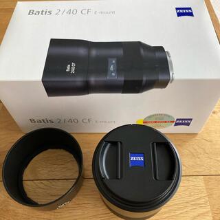 ソニー(SONY)のCarl Zeiss Batis 2/40 CF 40mm ソニー    (レンズ(単焦点))