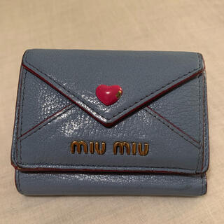 miumiu - miumiu ☆ マドラスレザー 財布