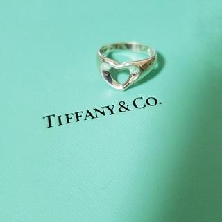 Tiffany & Co. - ティファニー オープンハート リング