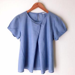 ルクールブラン(le.coeur blanc)のコットンTシャツ(Tシャツ(半袖/袖なし))