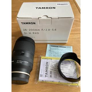 TAMRON - タムロン 28-200mm F/2.8-5.6 Di III RXD eマウント