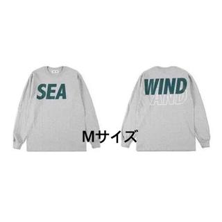 WIND AND SEA ロンT グレー M ウィンダンシー