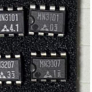松下製 BBD MN3007 + MN3101(エフェクター)