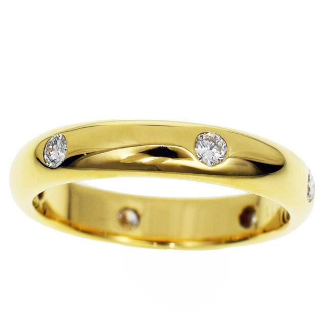 Cartier(カルティエ)の【超美品】Cartier カルティエ ステラ 6Pダイヤ K18YG リング レディースのアクセサリー(リング(指輪))の商品写真