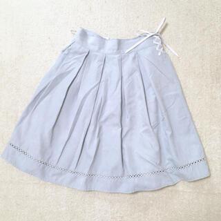 フィント(F i.n.t)のウエストレースアップスカート(ひざ丈スカート)