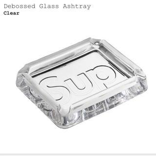 シュプリーム(Supreme)のsupreme Debossed Glass Ashtray clear (灰皿)