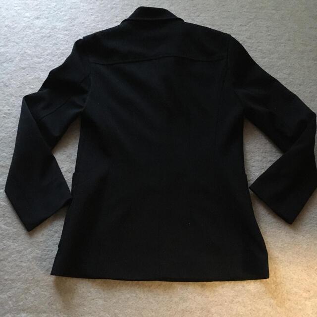 MICHEL KLEIN(ミッシェルクラン)の訳あり MICHEL KLEIN スーツ黒色 サイズ38 レディースのフォーマル/ドレス(スーツ)の商品写真