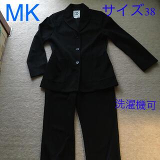 MICHEL KLEIN - 訳あり MICHEL KLEIN スーツ黒色 サイズ38