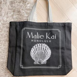 マリエオーガニクス(Malie Organics)の【新品】Malie Kai ハワイ限定 トートバッグ ブラック(トートバッグ)