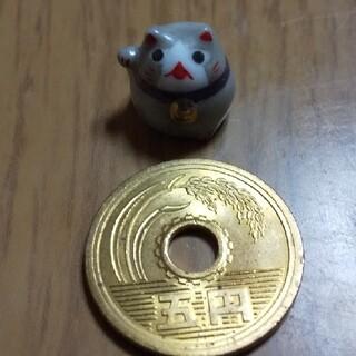 招き猫 ミニチュア 置物(陶芸)