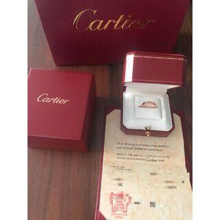 Cartier - 週末値下カルティエ 指輪 リング ピンクゴールド