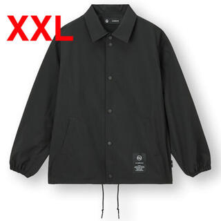 GU - GU UNDERCOVER コーチジャケット XXL BLACK アンダーカバー