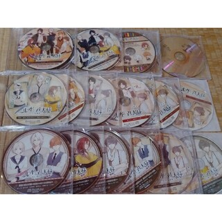 ニル・アドミラリの天秤 特典 ドラマCD 16枚セット 乙女ゲーム オトメイト(CDブック)