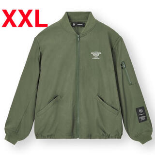 GU - GU × UNDERCOVER ジップアップブルゾン OLIVE XXL