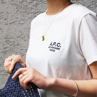 アーペーセー(A.P.C)の完売人気❕ 新品タグつき IENA A.P.C. DENISE Tシャツ(Tシャツ(半袖/袖なし))